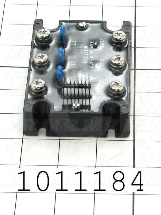 Output Module, SSR, 220VAC, 50A, 3 Phase