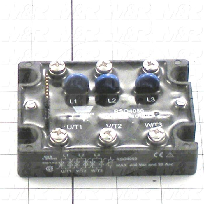 Output Module, SSR, 400VAC, 50A, 3 Phase