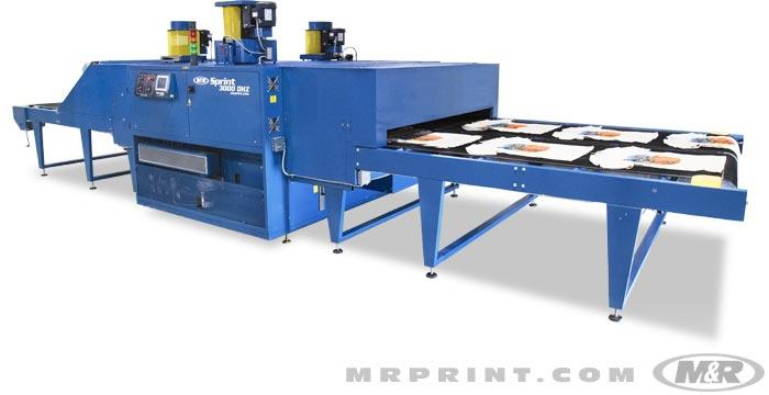 Sprint 3000 DHZ Gas Screen Printing Conveyor Dryer