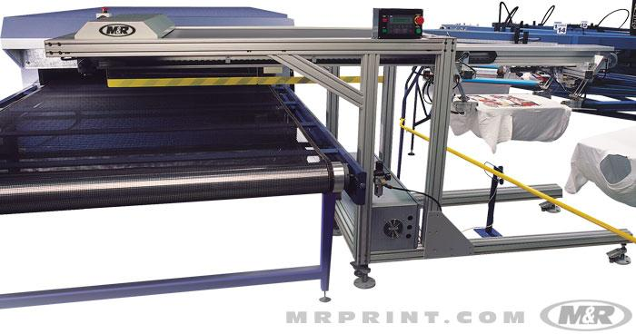 Passport Automatic Textile Unloader for T-Shirts & Other Substrates