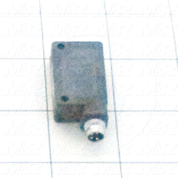 Photoeletric Sensor, 4mm threaded, Retro-reflective, 8mm-2.5m Sensing Range, Dark On, NPN