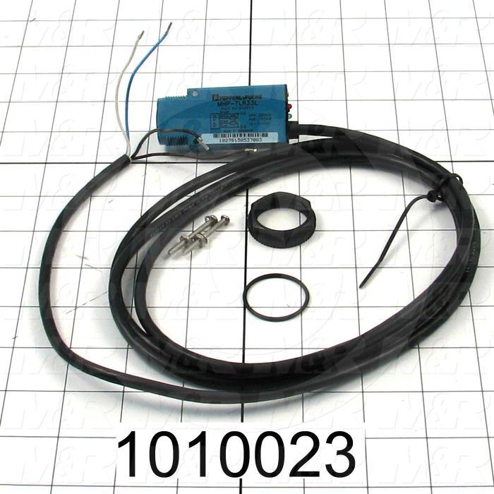 Photoeletric Sensor, Receiver, 4mm threaded, Through-Beam, 30.4m Sensing Range, 30VDC