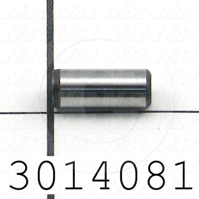 "Pin, Dowel Pin, ANSI, 0.25 in. Diameter, 0.625"" Overall Length, Alloy Steel Material"