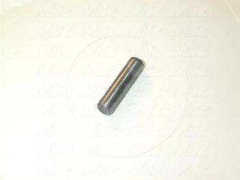 "Pin, Dowel Pin, ANSI, 0.25 in. Diameter, 1.00"" Overall Length, Alloy Steel Material"