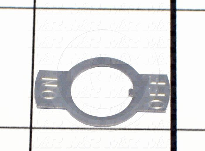 Plate, For On/Off Toggle Switch