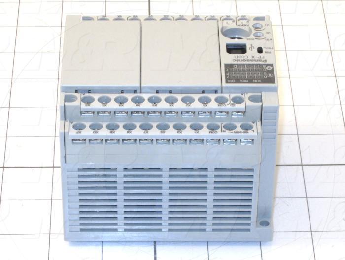 PLC, AFPX, 30 I/O, 16 Inputs, 14 Outputs, 32K, 100-240VAC