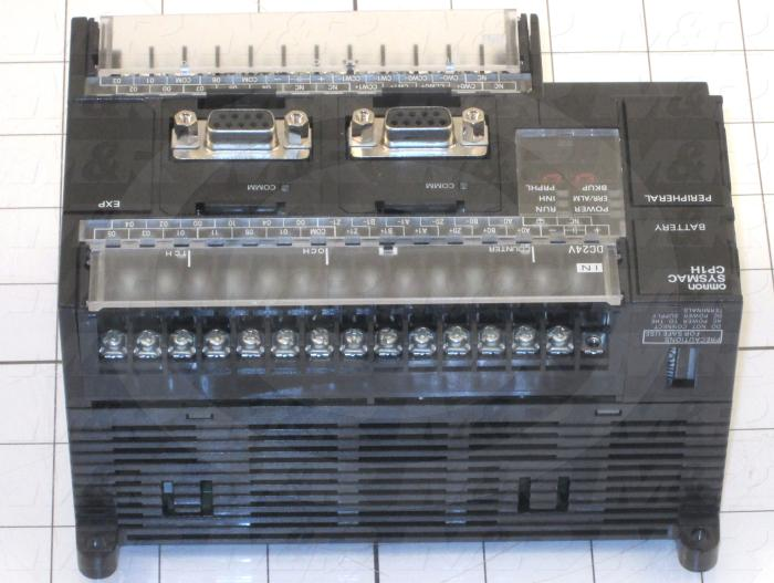 PLC, CP1H-Y With High Speed Position Control, 20 I/O, 12 Inputs, 8 Outputs, Transistor NPN, 20K