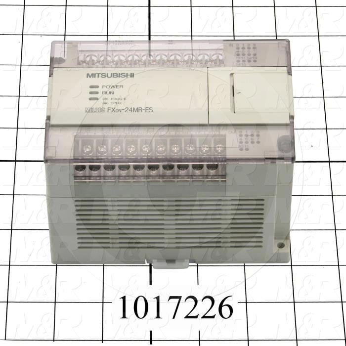 PLC, FX0N, 24 I/O, 14 Inputs, 24VDC Sink/Source, 10 Outputs, Relay