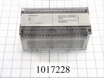 PLC, FX0N, 60 I/O, 36 Inputs, 24VDC Sink/Source, 24 Outputs, Relay