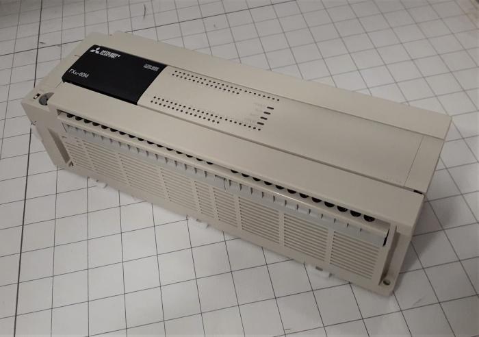 PLC, FX3U, 80 I/O, 40 Inputs, DC, 40 Outputs, Relay, 100-240VAC