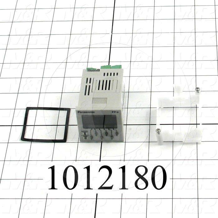 PLC/HMI Controller, 24VDC, 8 DC Inputs, 5 NPN Transistor Outputs, 1 Relay Output(s)