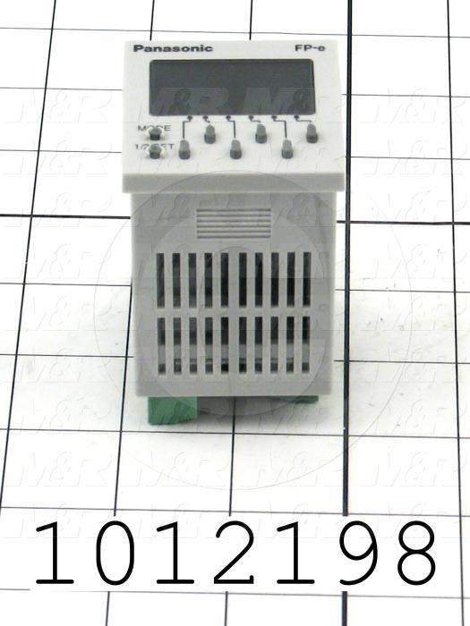 PLC/HMI Controller, 24VDC, 8 Inputs, 5 NPN Transistor Outputs, 1 Relay Output(s), RS485, Modbus Slave V1.2