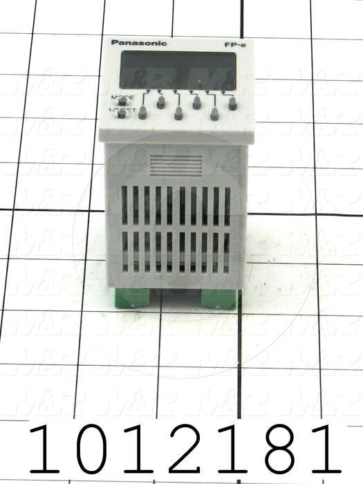 PLC/HMI Controller, FP Series, 24VDC, 6 DC Inputs, 1 Thermocouple Input, 6 Output(s), RS232C