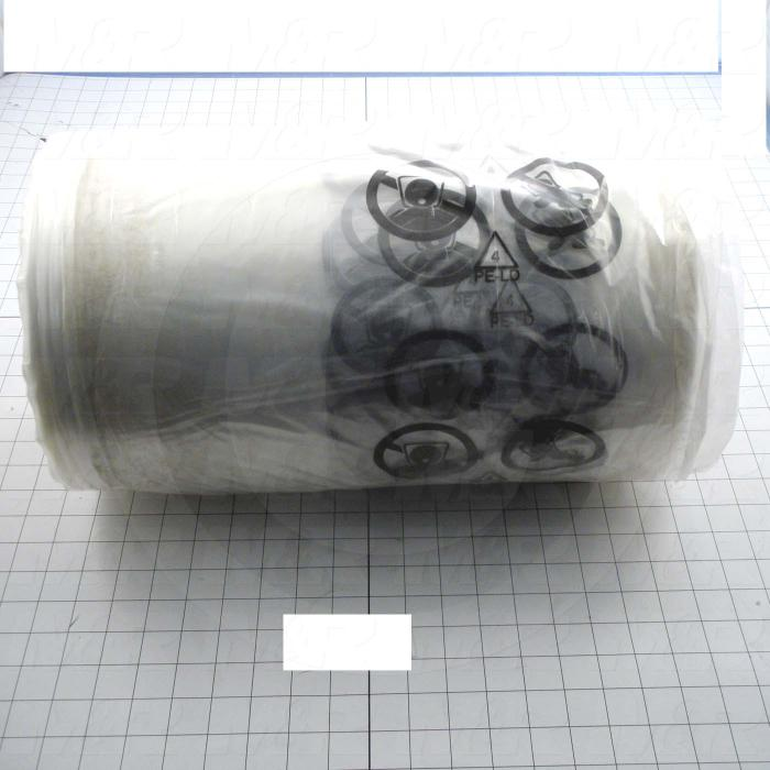 "Poly Film, Roll Type, 16""X2800' Size, 1 mil Thickness"