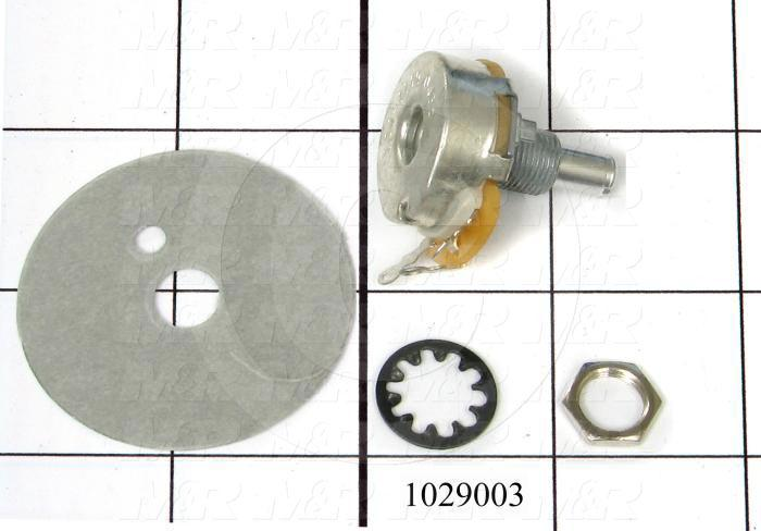 Potentiometers, 10K Ohm Resistance, 2W - Details