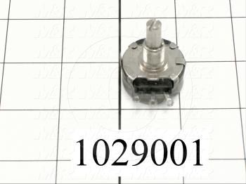 Potentiometers, 1K Ohm Resistance, 2W