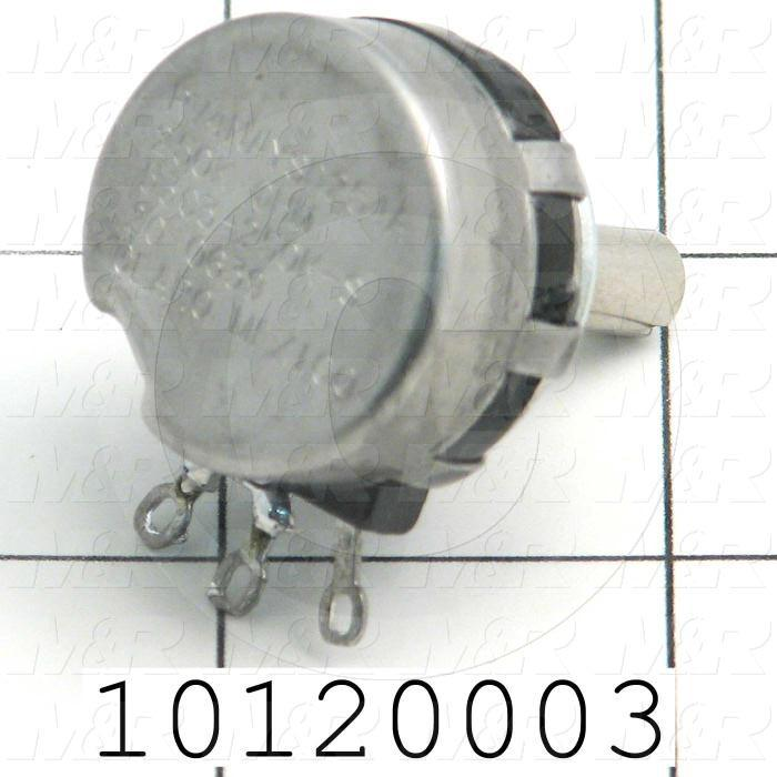 Potentiometers, 250K Ohm Resistance - Details