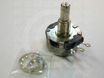 Potentiometers, 5K Ohm Resistance, 2W