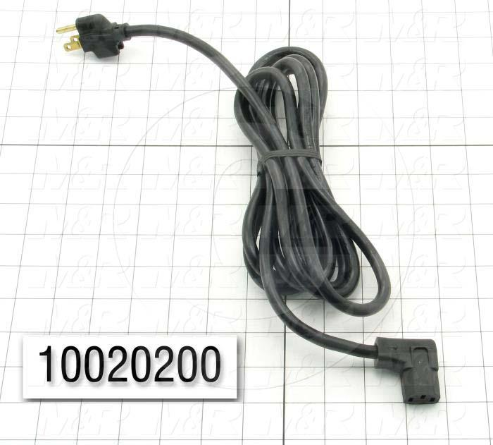 "Power Cord, 9' 10"", 3 Conductors"