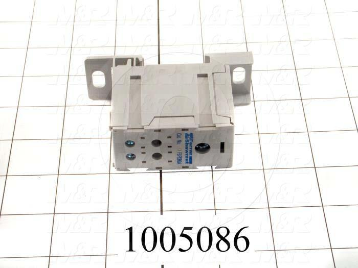 Power Distribution Block, 1 Line Connection/Pole, 2/0-14AWG Line Wire Range, 4 Load Connection/Pole, 2-14AWG Load Wire Range, 175A