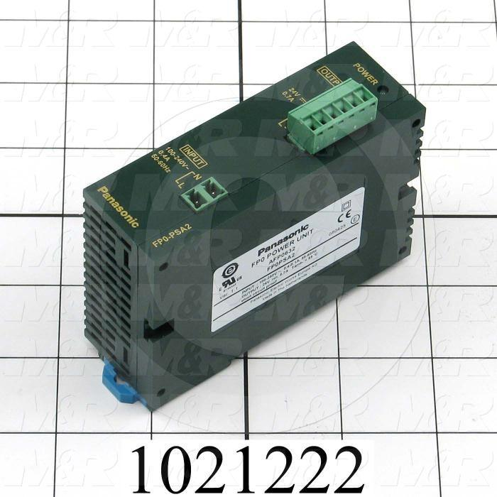 Power Supply, 100-240VAC Input Voltage, 0.4A Input Current, 24VDC Output Voltage, 0.7A Output Current