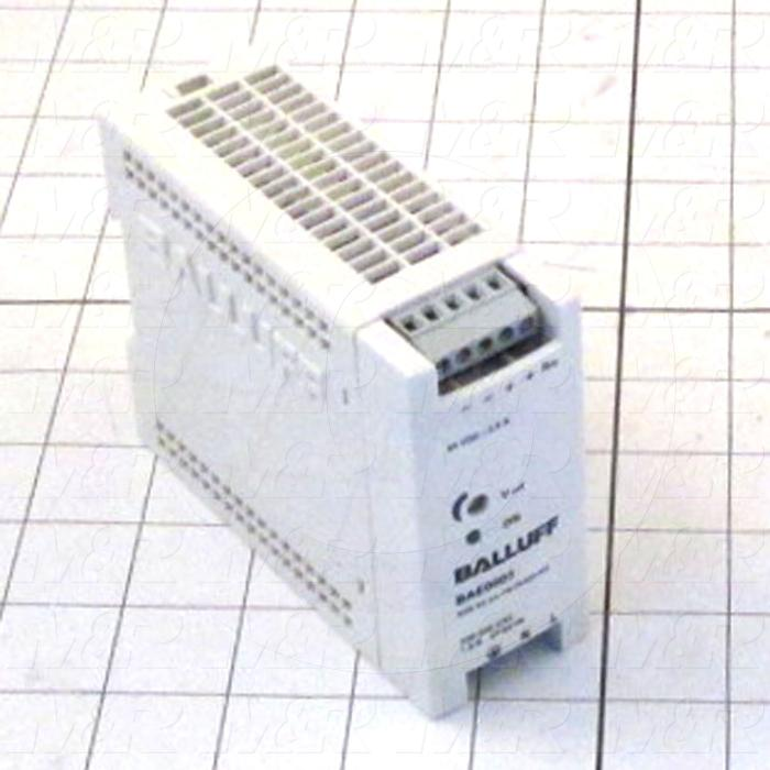Power Supply, 100-240VAC Input Voltage, 1.15A Input Current, 50W, 24VDC Output Voltage, 2.1A Output Current