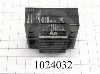 Power Supply, 100-240VAC Input Voltage, 30W, 24VDC Output Voltage, 0.8A Output Current, For Use With CPU 90-30 Series