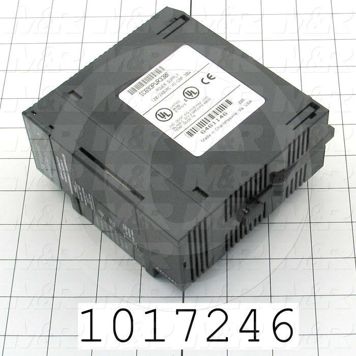Power Supply for PLC, GE, 100-240VAC Input Voltage