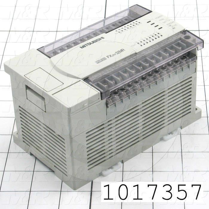 Powered Extension Unit, 32 Input/Ouput, 690mA @ 5VDC, 250mA @ 24VDC