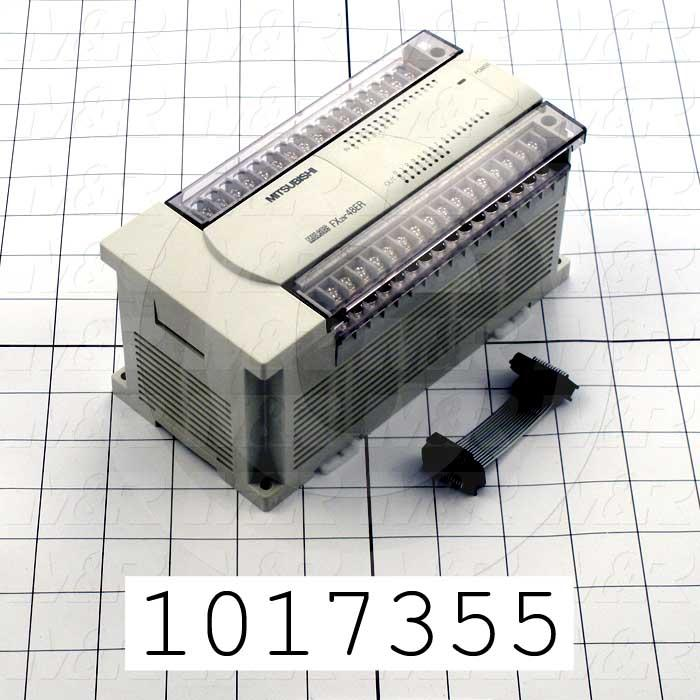 Powered Extension Unit, 48 Input/Ouput, 690mA @ 5VDC, 460mA @ 24VDC