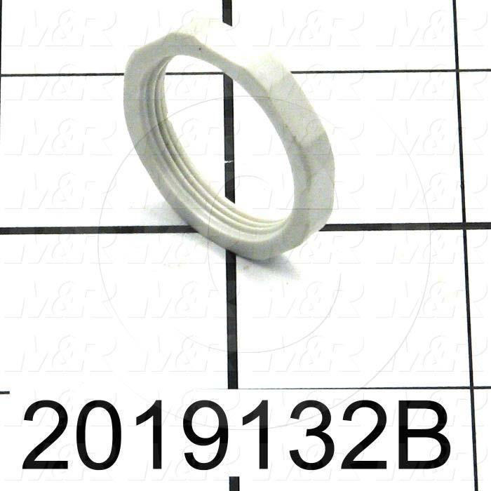 Pressure Regulator, Nut For 2019132 Pressure Regulator