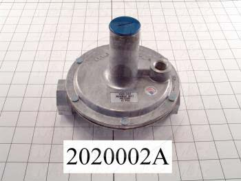 "Pressure Regulators/Switches, Thread Size 1"" NPT, Max. Pressure 2.0 Psi, Pressure Range 7-10""wc"