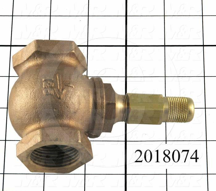 "Pressure Regulators/Switches, Thread Size 1"" NPT, Max. Pressure 40 Psi, Pressure Range 0.5-10""wc"
