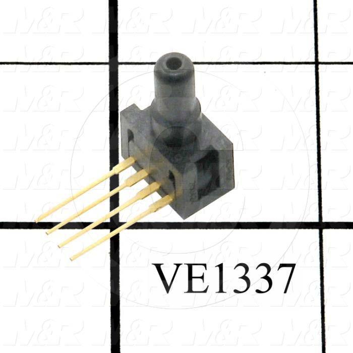 Pressure Sensor, 0 ~ 15 PSI, 0-100mV Output, 10V
