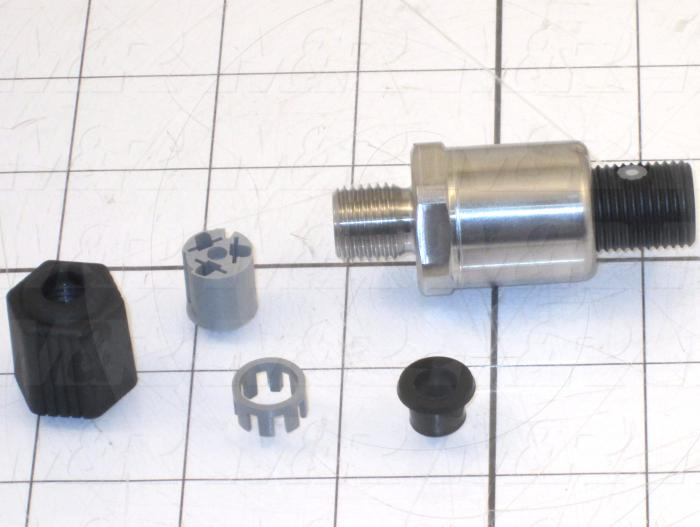 Pressure Sensor, -1-0 BAR, 24IN/10VOUT