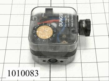 "Pressure Switch, 0.4"" WC Minimum Pressure, 4"" WC Maximum Pressure"