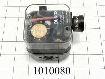 "Pressure Switch, 2"" WC Minimum Pressure, 20"" WC Maximum Pressure"