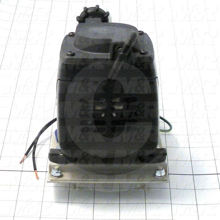 """Pump, Type: Electromechanical, Max. Vacuum: 24""""Hg, Note: This Is A Vacuum Pump Assembly"""