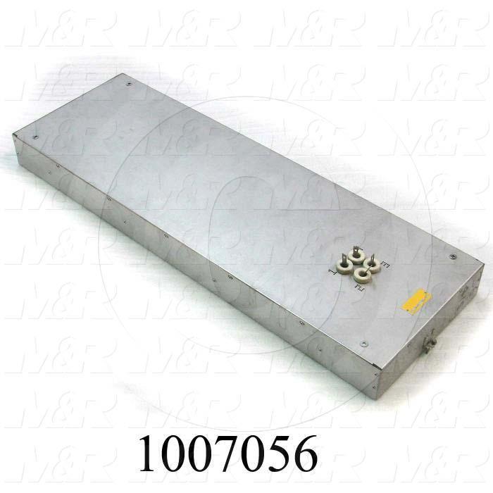 "Radiant Panel, Dimension 12""x36"", 3672W, Voltage 415VAC, 1-3 Phase"