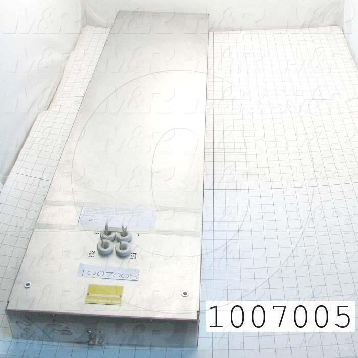 "Radiant Panel, Dimension 12""x48"", 4896W, Voltage 208VAC, 1-3 Phase"