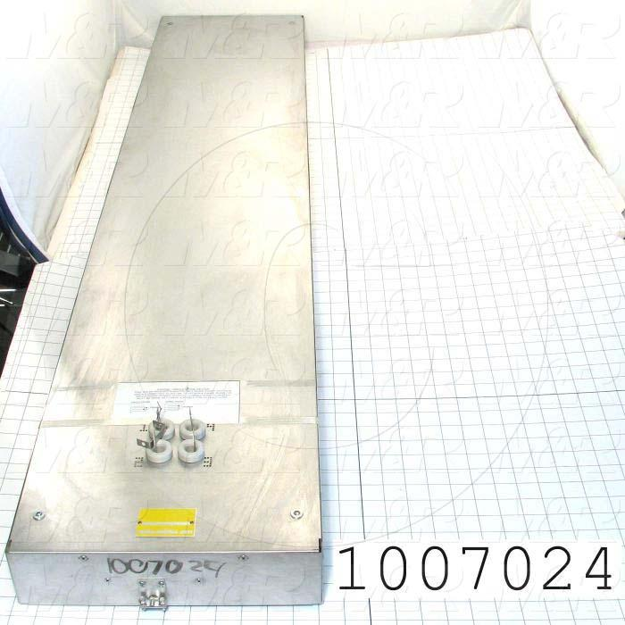 "Radiant Panel, Dimension 12""x60"", 6120W, Voltage 380VAC, 1-3 Phase"