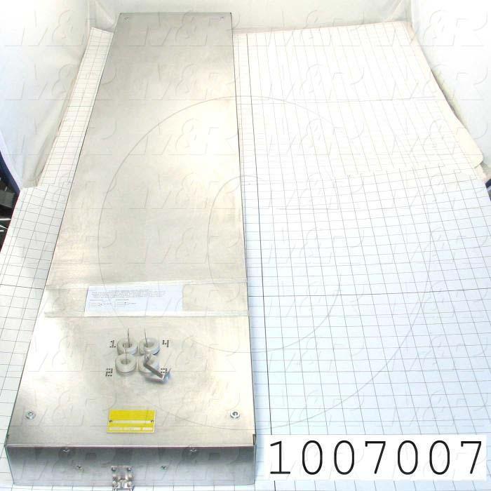 "Radiant Panel, Dimension 12""x60"", 6120W, Voltage 580VAC, 1-3 Phase"