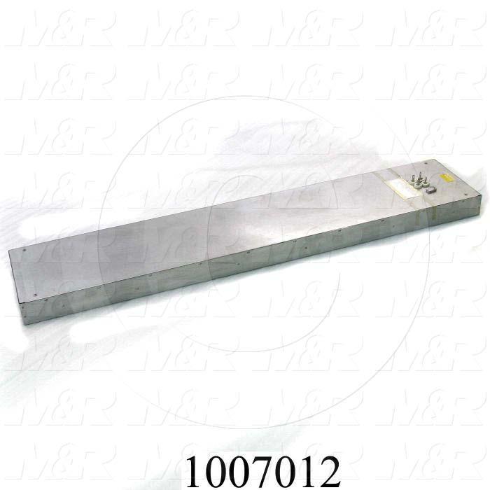 "Radiant Panel, Dimension 12""x60"", Voltage 480VAC"