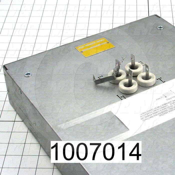 "Radiant Panel, Dimension 12""x72"", 7344W, Voltage 208VAC, 1-3 Phase"