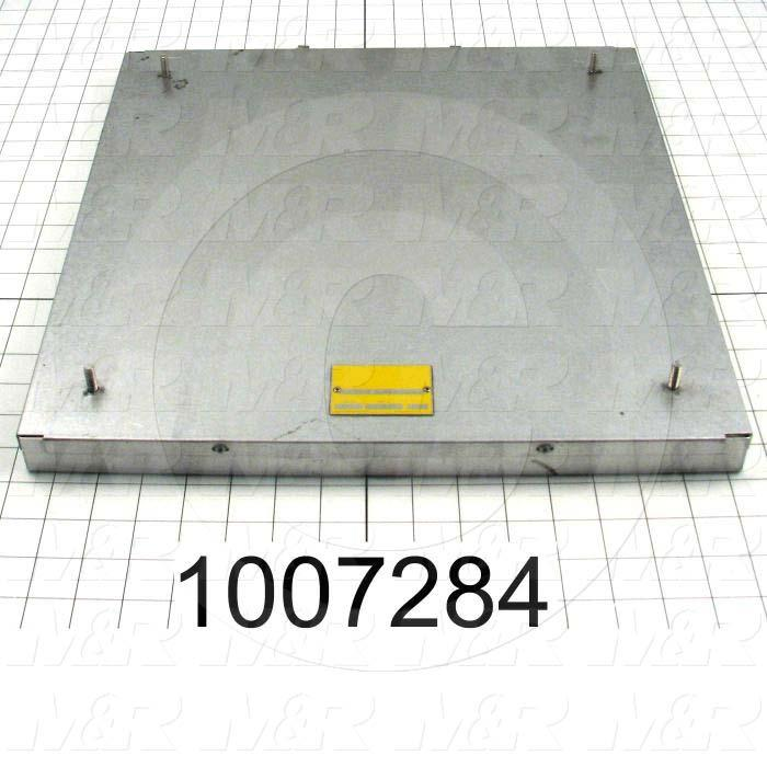"Radiant Panel, Dimension 16""x16"", 1280W, Voltage 208VAC, 1-3 Phase"