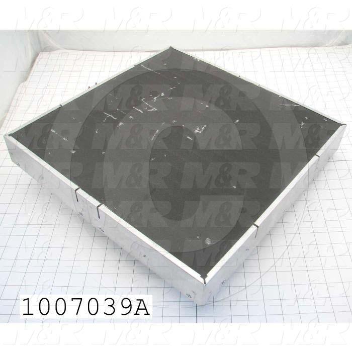 "Radiant Panel, Dimension 18""x18"", 3240W, Voltage 380VAC, 3 Phase"
