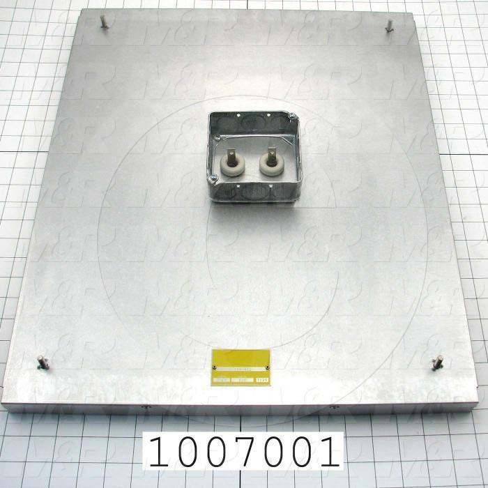 "Radiant Panel, Dimension 18""x22"", 3960W, Voltage 208VAC, 1-3 Phase"
