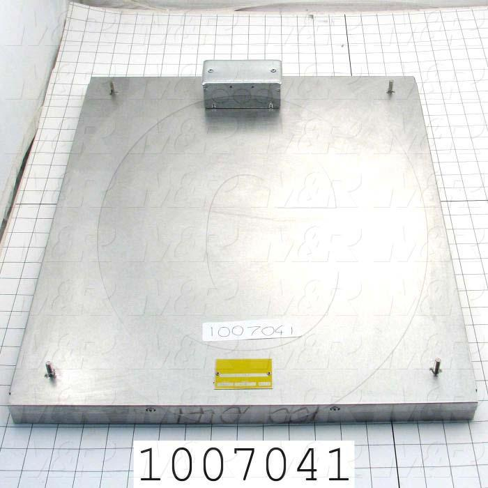"Radiant Panel, Dimension 18""x22"", 3960W, Voltage 208VAC, 1-3 Phase"