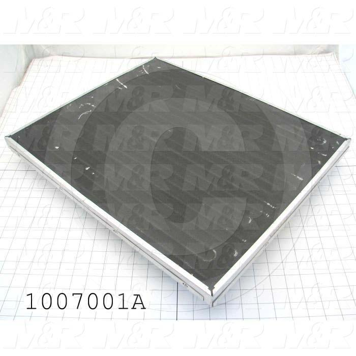 "Radiant Panel, Dimension 18""x22"", 3960W, Voltage 380VAC, 1-3 Phase"