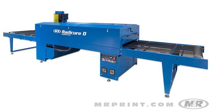 Radicure D Electric Screen Printing Conveyor Dryer